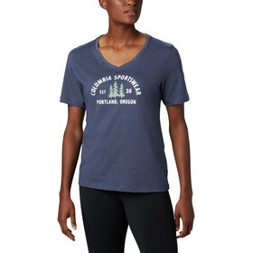 Columbia Mount Rose Relaxed Tee Women nocturnal heather